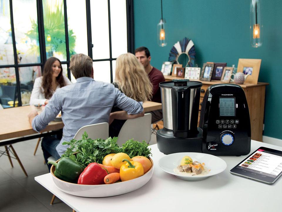 Le robot cuiseur geni mix pro connect de thomson - Geni mix pro connect ...