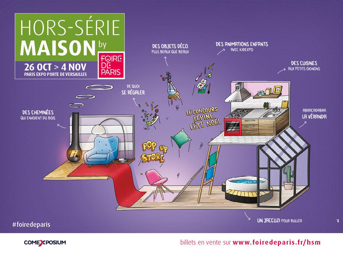 Hors-Série Maison 2018 by Foire de Paris